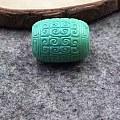 漂亮回纹绿松桶