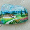 水帖,画的石头