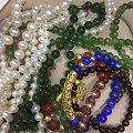新收到的珍珠项链!