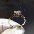 经典牛头款戒指💍车花工艺,显钻石,简单大方[爱心]定制热款[玫瑰][玫瑰]