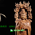 世界手工博览会中国作品,印度老山檀,南海观音