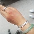 第一次买定制银手镯和戒指