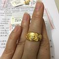 唯品会大牌不能用抵用券,不买了,晒京东最后一单丑戒指,克重无惊喜。