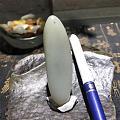 【籽玉河】新疆高青白玉籽料挂件籽脂粉很好300