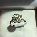 白菜价出80分钻石戒指,钻石手链,GIA50分裸钻