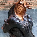 老挝花梨观音作品欣赏