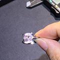 3.455克拉白色缅甸尖晶石