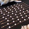 18k金双层珍珠手链