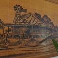 木板画: 《蓝宝石》阳光之州民宅