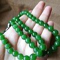 一条值得终身佩戴的俄碧玉阳绿项链