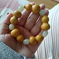 买葫芦自己打孔做的手链
