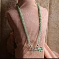 翡翠珠串挂件 南红青金石配件