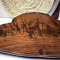 老挝大红酸枝【干泡茶台】整块材料掏空设计,满满水波纹理