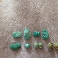 原矿无优化高磁兰绿松小雕件就还剩这么多喜欢来挑吧
