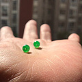 想买这两个珠子,大神帮我掌眼下