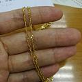 277克价。周大生手链,潮宏基水波纹项链,吉盟十字链,零兑金男款橄榄珠项链