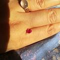 2017最后一天做好的红宝石戒指