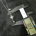 (售1)时尚钻石钥匙吊坠,开启幸福之门,2500一条团