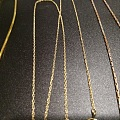 K金链子/K金钻石戒指出闲置,图片陆续更新中(第一期4-5条)