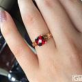 求很久以前的一款回纹石榴石戒指
