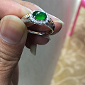 冰种阳绿戒指