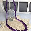 乌拉圭紫水晶塔链 鄙视人造晶!