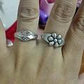 我奶奶留下的银戒指~
