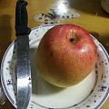 不晒美食晒个苹果