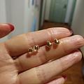 继续清18K金镶钻耳钉翡翠项链戒指宝石等便宜出