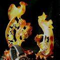 瑪瑙精雕・鳳凰・60〜70年代作品