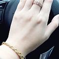 出一个14.5圈口的花藤戒指