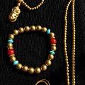 我来撒一把珠子,拿了校长家的金币抵扣,不能不来秀个古法珠子的DIY