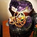 新入手的紫晶盆