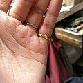 美吗美吗,刚刚打了一个小金戒指