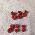 闲置南红的一些珠子 配饰 还有戒指手串 需要的妹子来看看