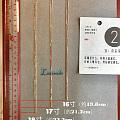 两张图让大家看见常见尺寸K金链子的长度
