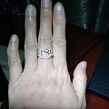 周生生kitty钻石戒指