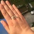 疯狂的金蟾小戒指