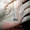 钻石锁骨链,18k金手圈