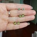 翡翠貔貅银镶红宝石戒指祖母绿戒指莫桑碎钻