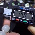 新疆且末料老型珠 尺寸14*13 克重68.7