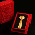 盘古金,古法手工工艺事事如意和三星高照如意,10克,20克,30克。
