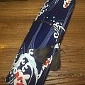 新品6把装扇袋,各种款式图案