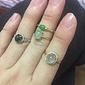 少得可怜的翡翠戒指