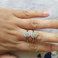 闲置天然宝石戒指全部40-80处理
