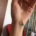 祖母绿吊坠