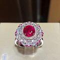 1.47克拉,无烧缅甸红宝石戒指,自带古柏林证书. 总价甚好,诚意来.