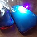 藍珀78g和52g爭議多,看看白光灯下的照片