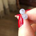 转18k镶钻粉紫13mm珠吊坠、镶钻冰紫扣耳钉、冰紫三彩挂绳等