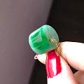 转翡翠A货辣绿桶珠、果冻蓝玫瑰、黄绿手串、冰绿老种桶珠